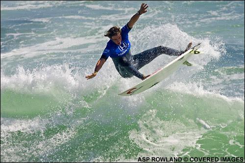 Aramburu pasa a cuarta ronda en el US Open de surf