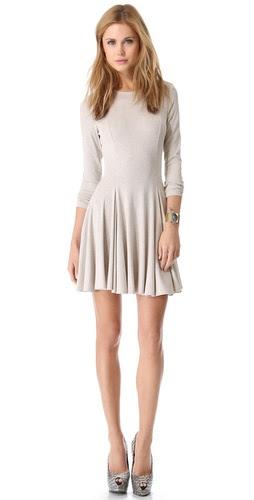 Torn by Ronny Kobo Isabel Rib Dress