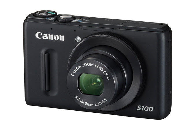 Canon Powershot S100 - Front View