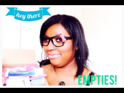 EMPTIES! Products I've Used Up