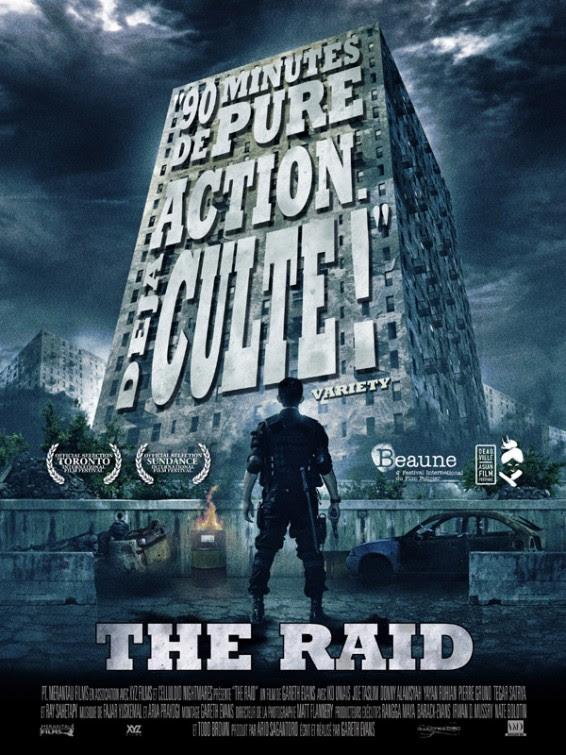 Risultati immagini per the raid poster