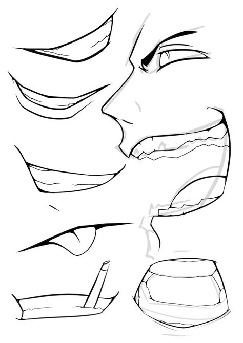 anime mouth google search body refrence anime mouth