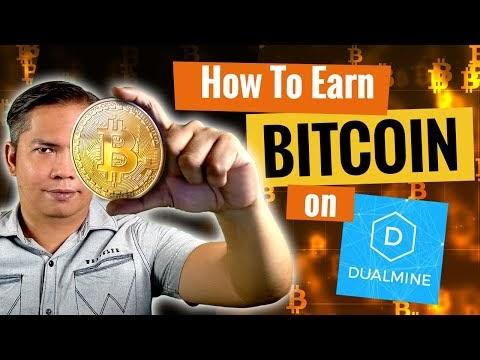 How to Earn Bitcoin on DualMine + Withdrawal