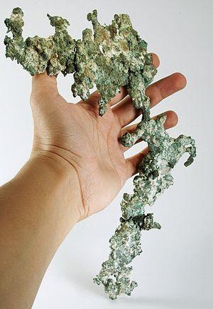 Copper :: Locality: Keweenaw peninsula, Michig...