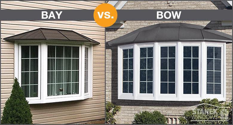 bay vs bow window