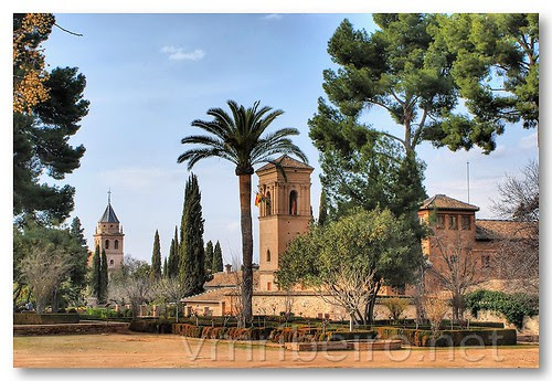 Jardins de Alhambra by VRfoto
