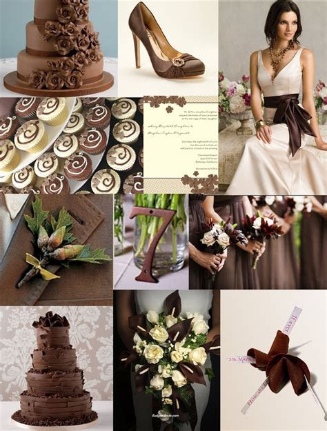 227 best images about Wedding   Brown shades on Pinterest