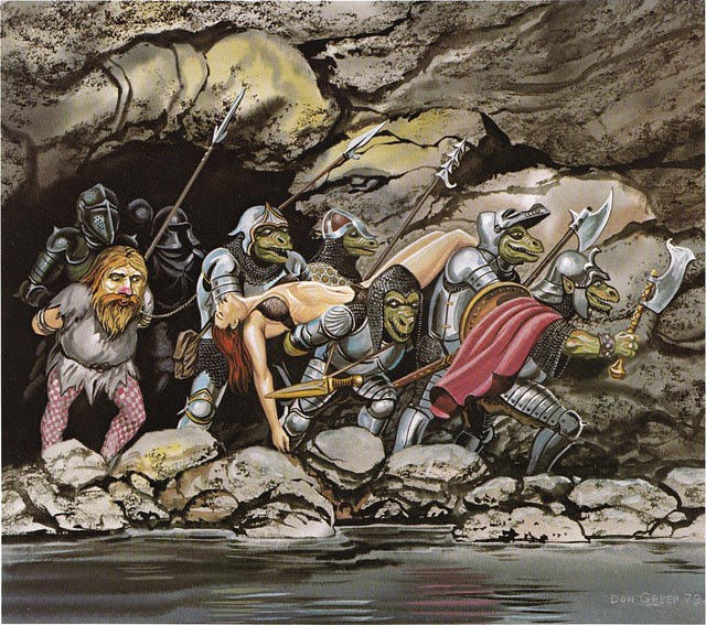 Down In The Dungeon - Don Greer, Rob Stern (Squadron-Signal_1981)-Orc War Party