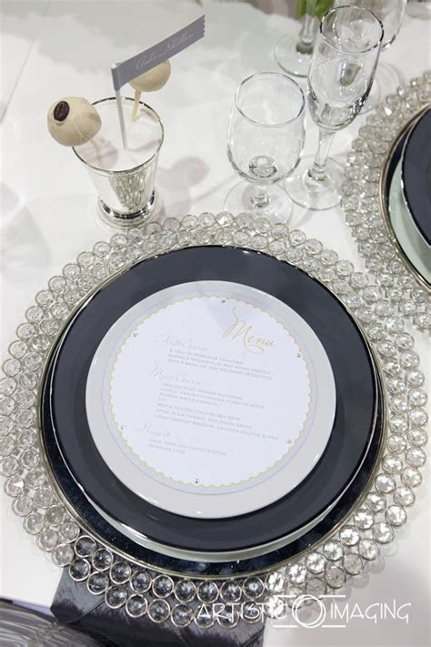 17 Best images about Bling Plate Chargers and Napkin