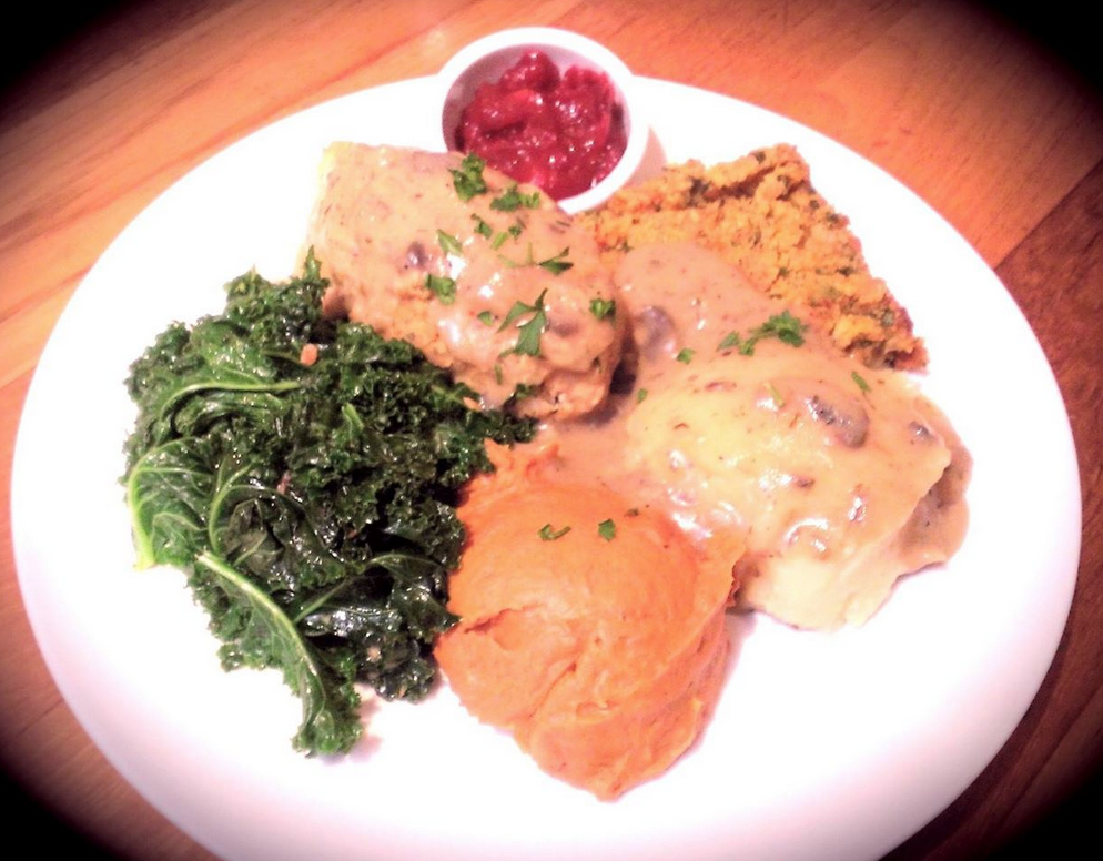 Real Food Daily Vegan Thanksgiving