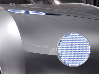 BMW Concept Coupe Mille Miglia 2006 - Headlights detail