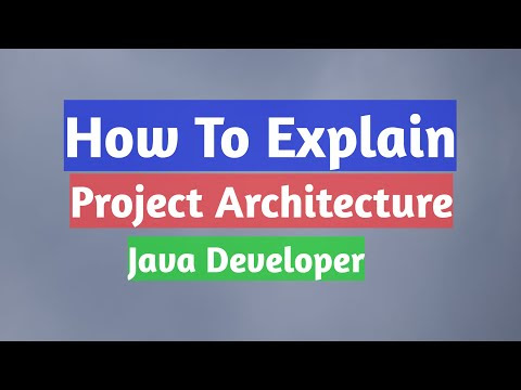 What is The Project Architecture in Your Current Project? Explain