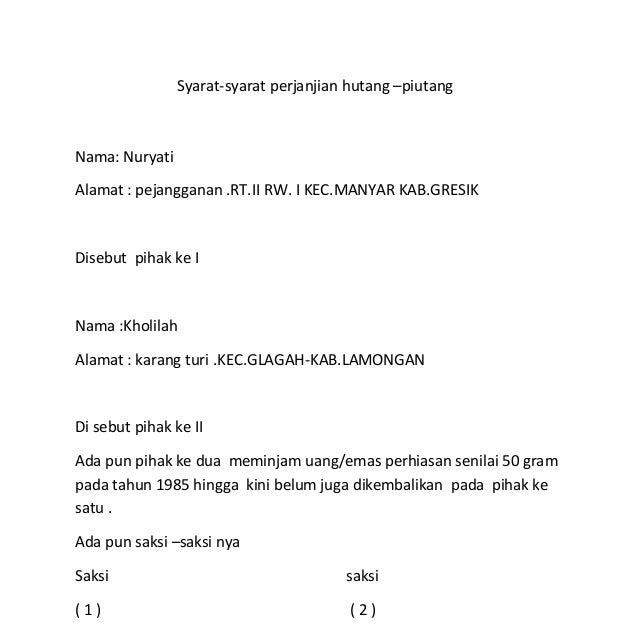 Image Result For Contoh Surat Kuasa Cetak Rekening Koran Bank