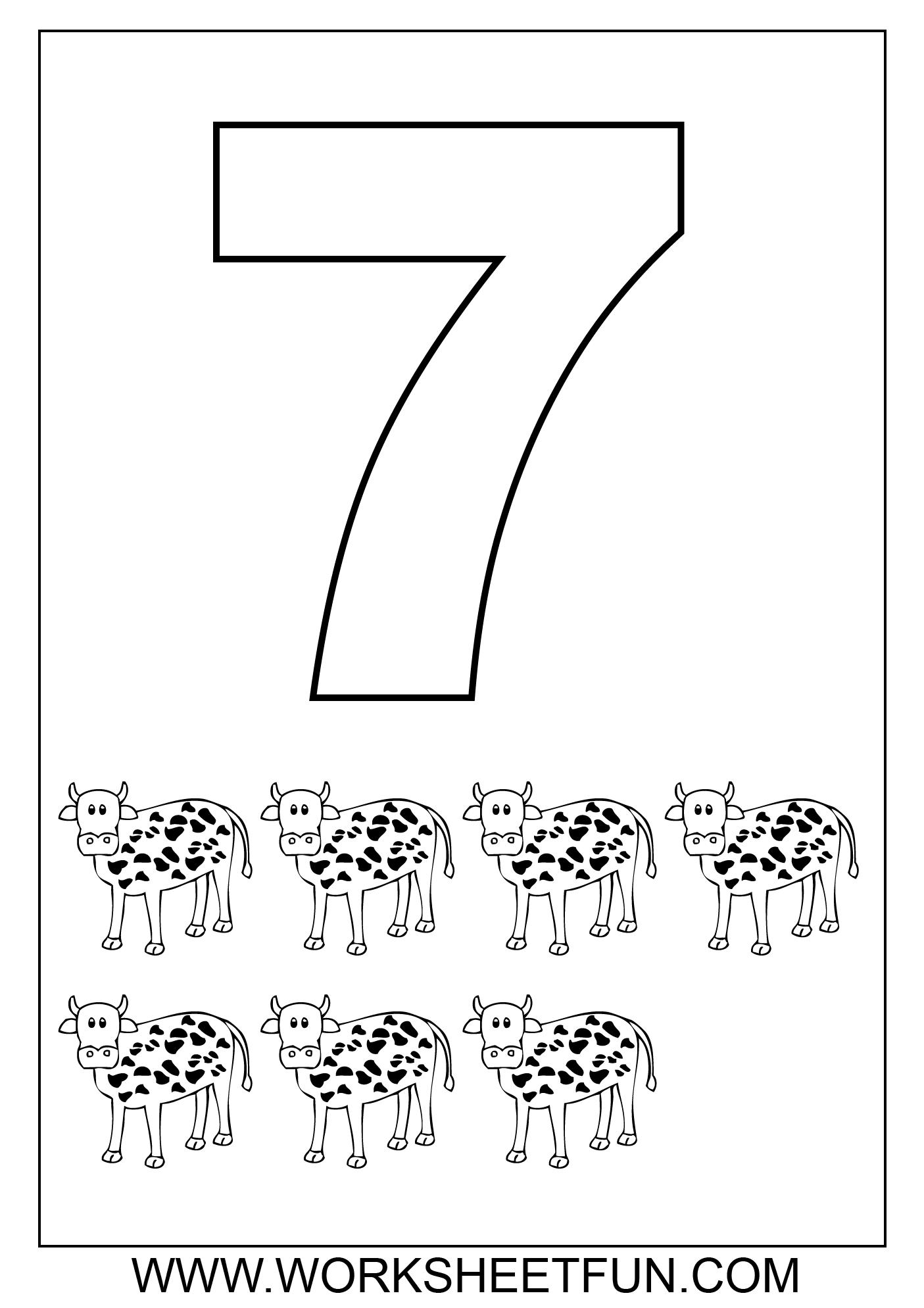 16 Best Images of Numbers 1-50 Worksheets - Kindergarten ...