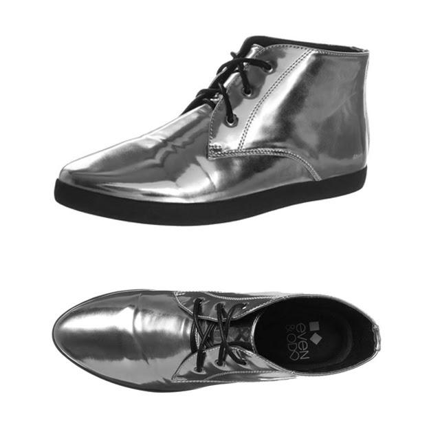 zalando silver shoes boots metallic statement mirror even & odd wishlist inspiration fashion blogger turn it inside out belgium