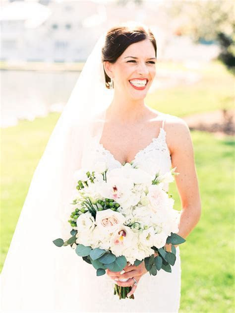 Paige Unitas & Mark Prossner   Baltimore Bride magazine