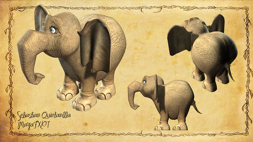 Elefante 3d by HARDEX_Design
