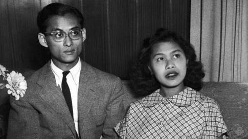 Bhumibol and Sirikit