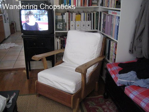 Before and After Wooden Arm Chair 6