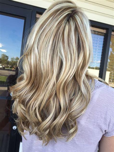 fashionable ideas  brown hair  blonde highlights