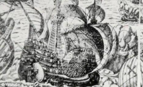 The ship: Nuestra Senora de Atocha sank in 1622 off the coast of Florida