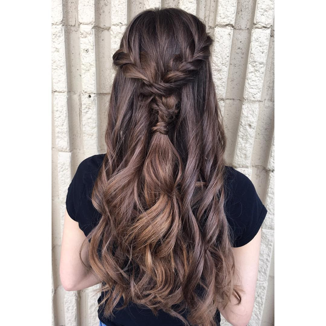 Hairstyle Curls Updo