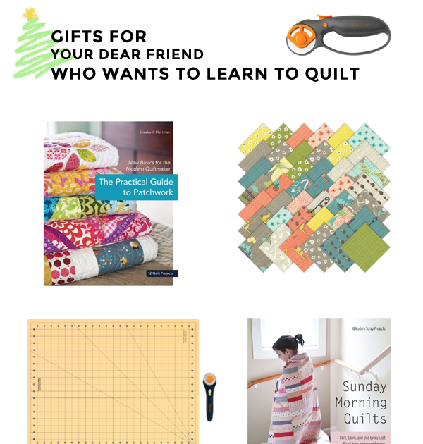 Michael Ann Made.: Gifts For Beginning Quilters