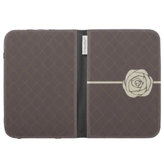 Vintage Rose Kindle Folio Cases