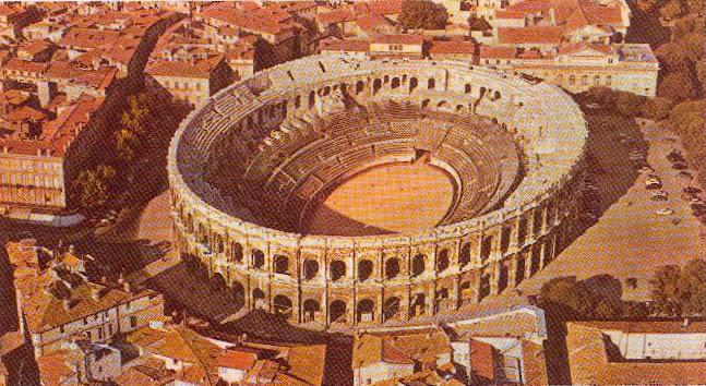 Amphitheatre, Nimes