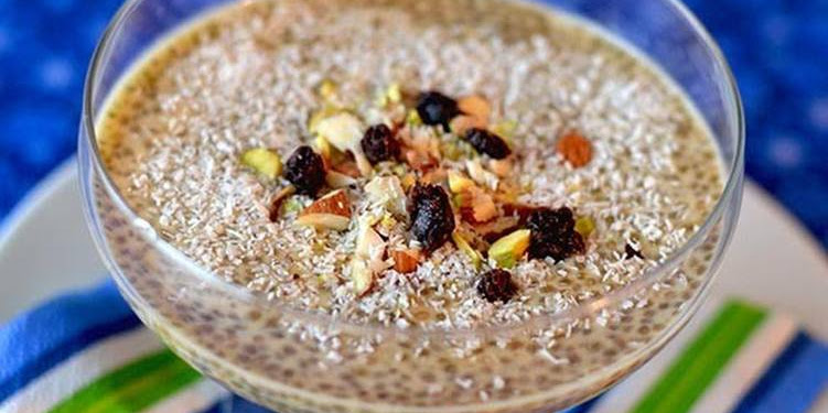 Recipe: Appetizing Vegan Chia Kheer (Indian Pudding Dessert)
