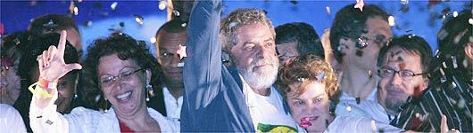 Lula venceu