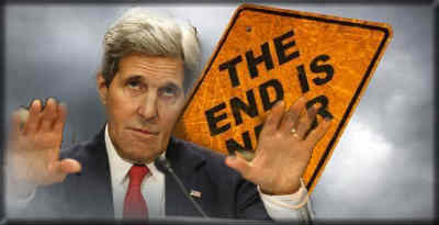 John Kerry: Life as you Know it on Earth Ends