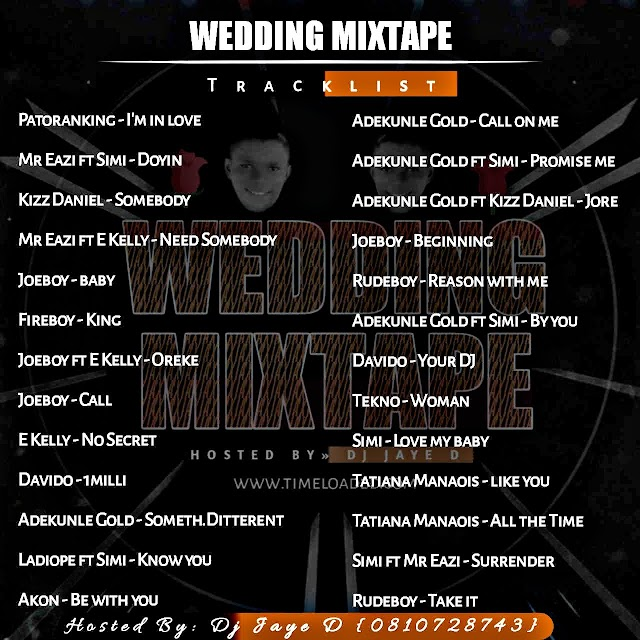 [BangHitz] [Mixtape] Wedding Mixtape - Hosted by Dj Jaye D (08103728743)