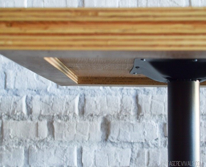DIY Stacked Plywood Tables - Vintage Revivals