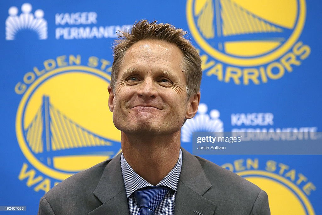http://media.gettyimages.com/photos/golden-state-warriors-new-head-coach-steve-kerr-looks-on-during-a-picture-id492467083