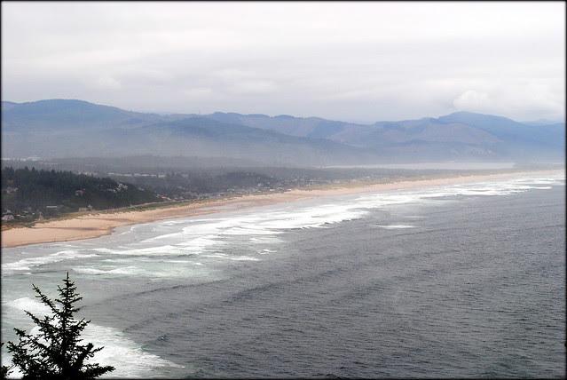 View of Manzanita from Hwy 101