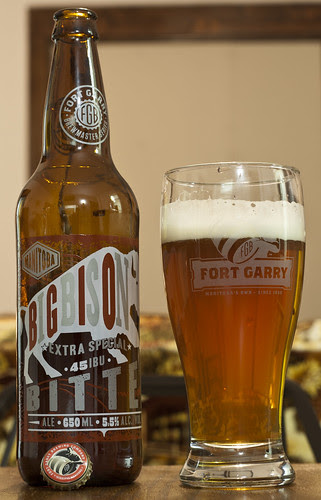 Review: Fort Garry Big Bison Extra Special Bitter by Cody La Bière