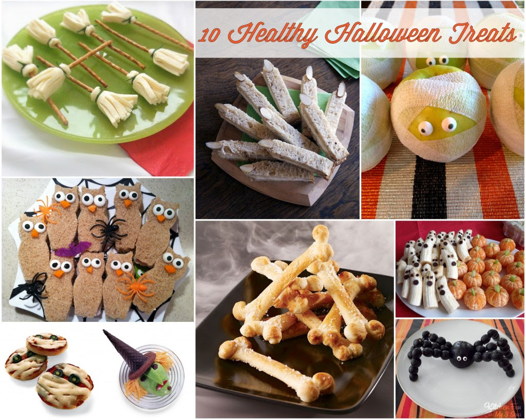 {Holidays} - 10 Healthy Halloween Treats - Mirabelle Creations