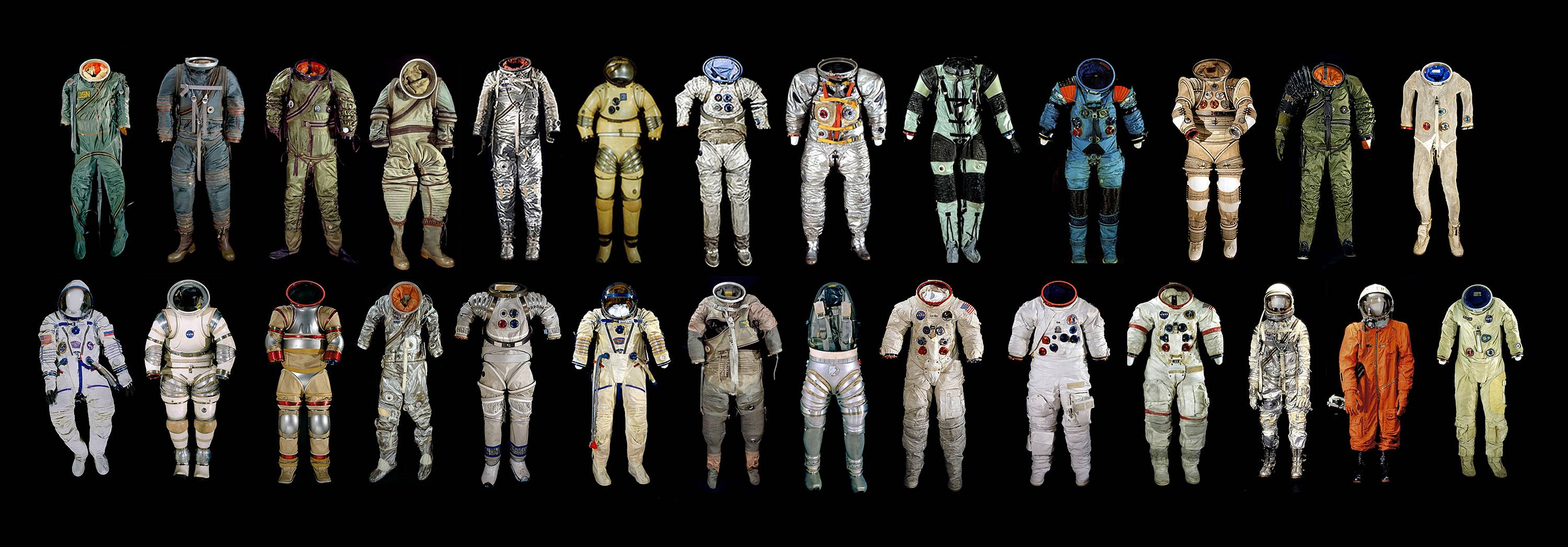 Space fashion collection