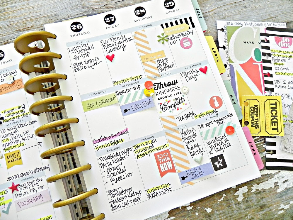 Create 365™ The Happy Planner™   a photoless weekly spread — me ...