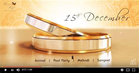 Template   Wedding invitation video   Video Production