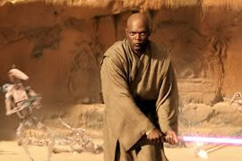 Mace Windu in action