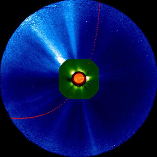 Comet ISONs Journey