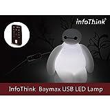 InfoThink / BayMax ベイマックス / LEDルームライト / 2W 120ルーメン / LIGHT-100 (Baymax) / USB給電 リモコン付属