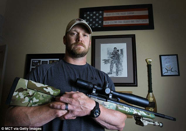 Kyle, who claimed he killed 255 Iraqi insurgents, shot to national fame with the publication of his harrowing book, American Sniper