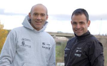 Los seleccionadores del equipo de carreras por montaña de Castilla y León, Quico Arribas y Toño Vinagrero. (Foto: FCLM)
