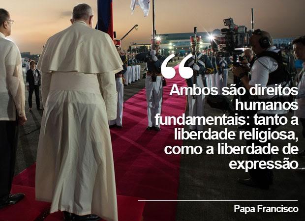Papa Filipinas (Foto: AP)