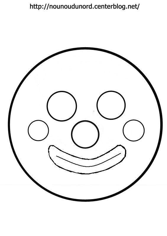 Masque Tête De Clown
