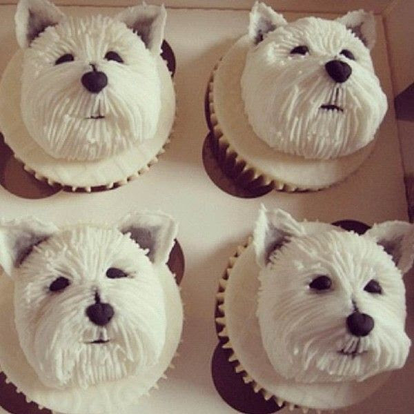 Dog Cupcake Decoration