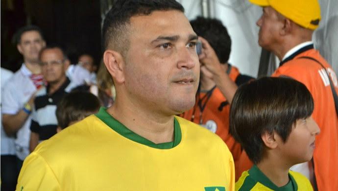 Brasil x Argentina Masters, na Arena das Dunas (Foto: Jocaff Souza/GloboEsporte.com)
